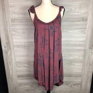 Free People Asymmetrical Min Dress Size XS